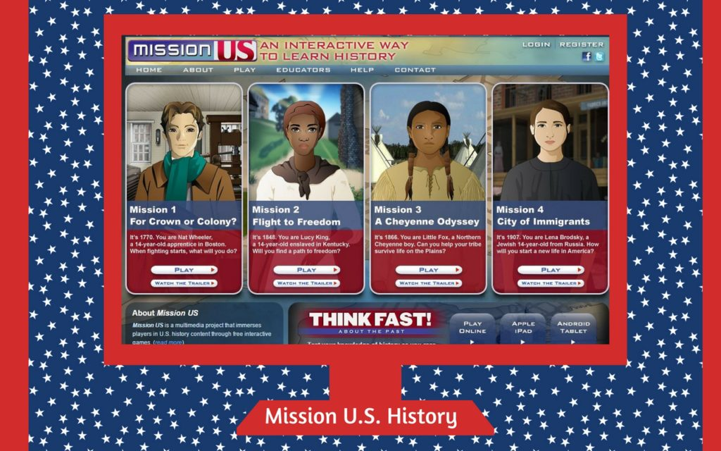 Mission US History SSW
