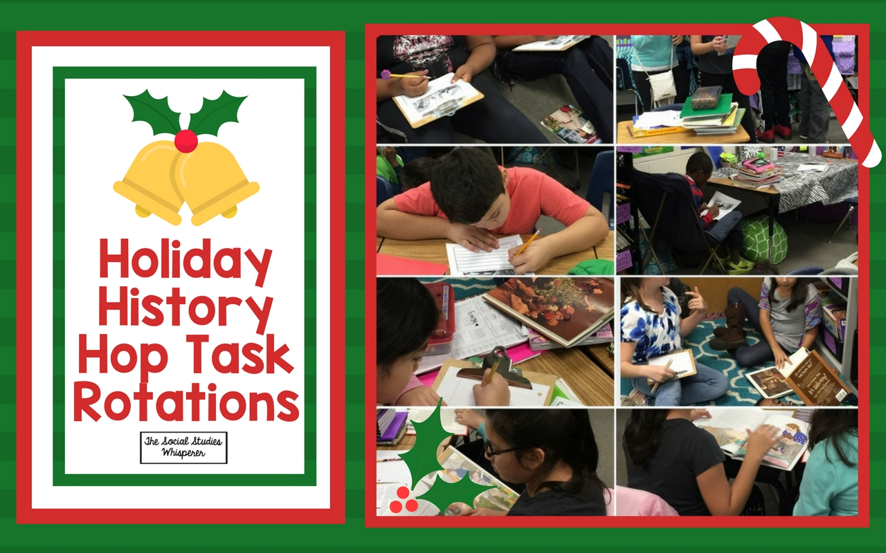 Holiday History Hop Task Rotations ssw