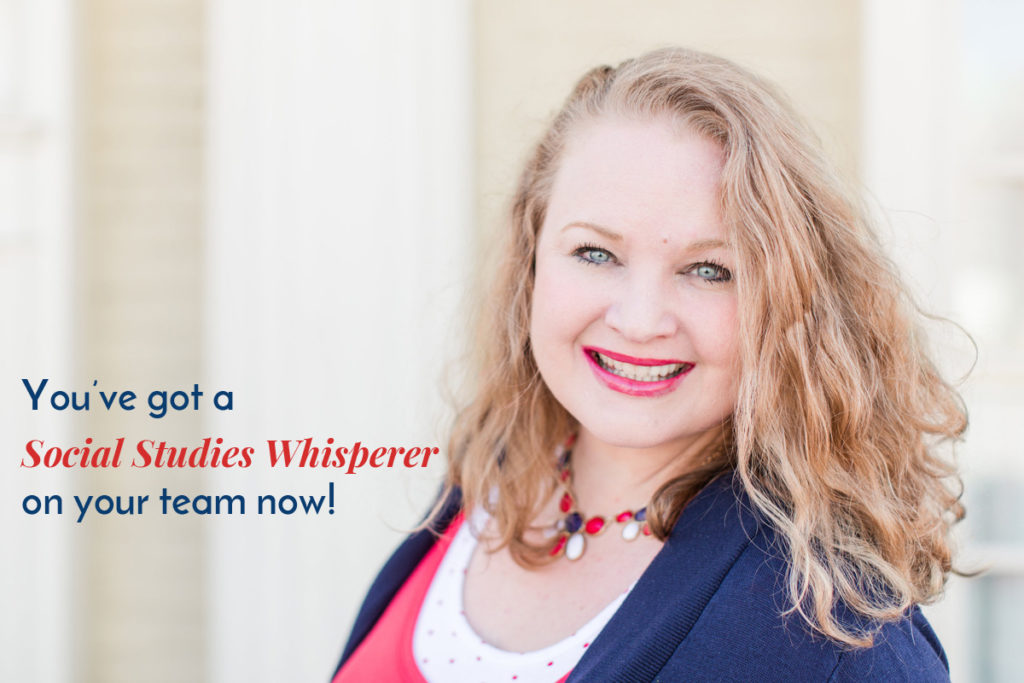 About Andrea Runnels // The Social Studies Whisperer