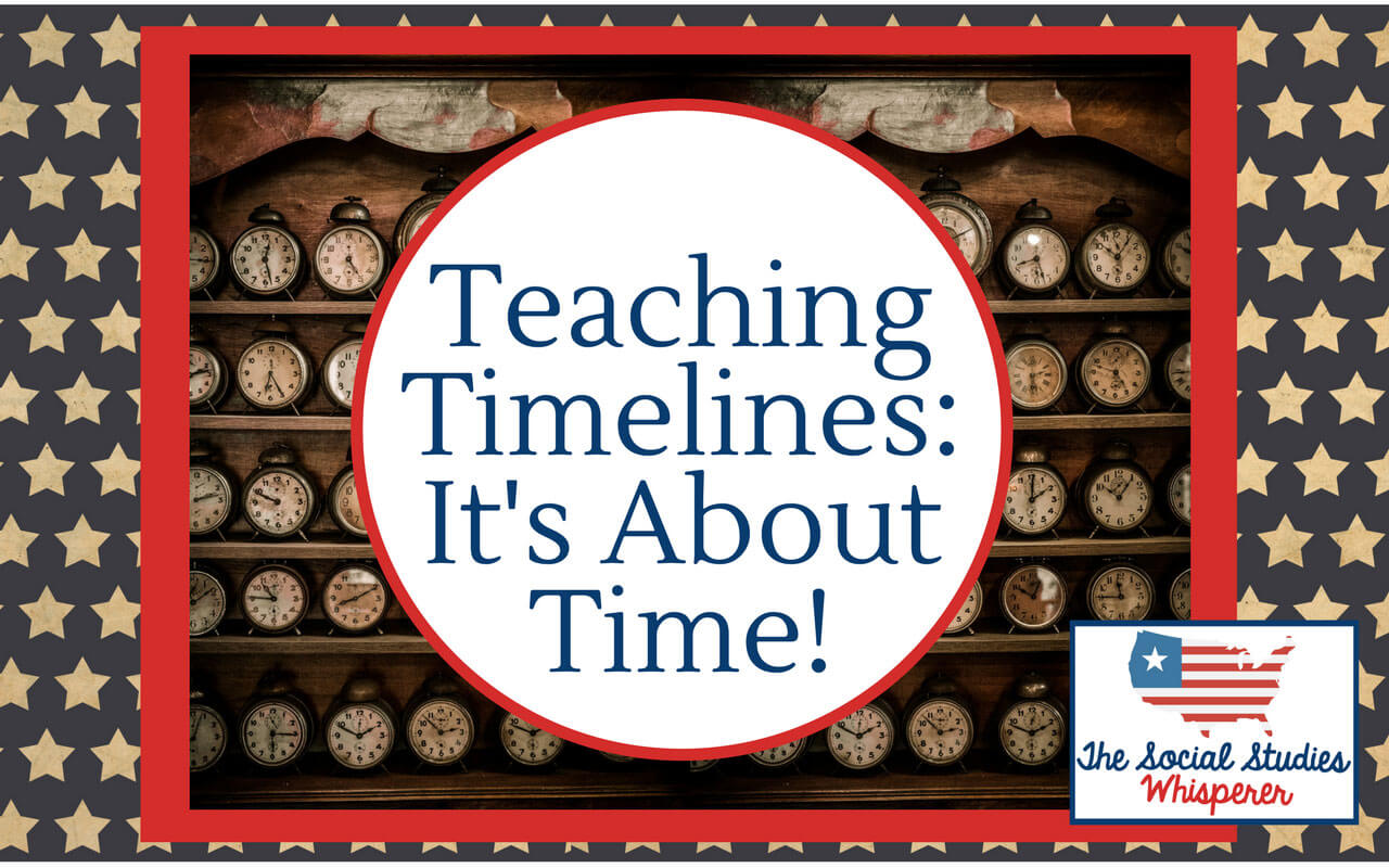 Teaching Timelines->It's About Time!