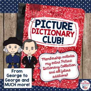 picture dictionary club SSW