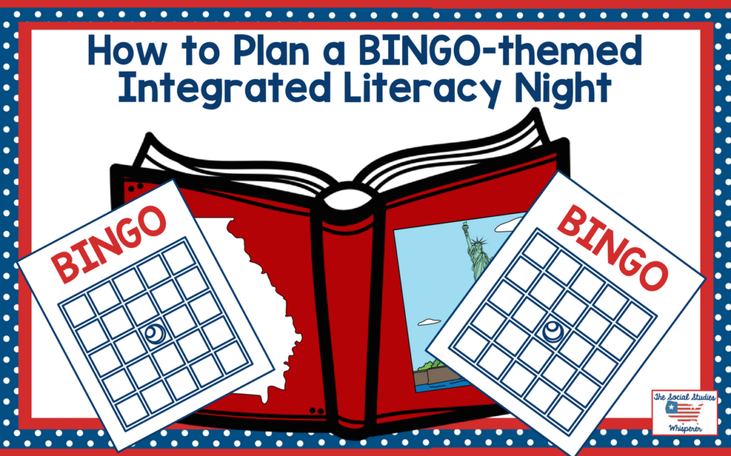 How To Plan A Bingothemed Integrated Literacy Night The Social. You're In For A Doozy Of Post I've Kept This Idea Under Wraps 3 Years Few Ago When I Taught 5th Grade At Former School. Worksheet. Worksheet Works Bingo At Mspartners.co